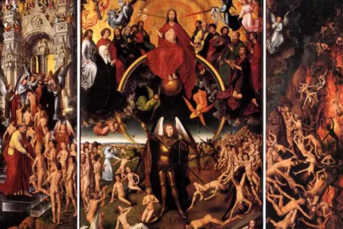 耶稣基督与大天使米迦勒称量灵魂