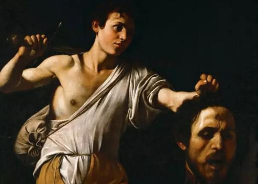 拉卡瓦乔的《大卫与歌利亚头》