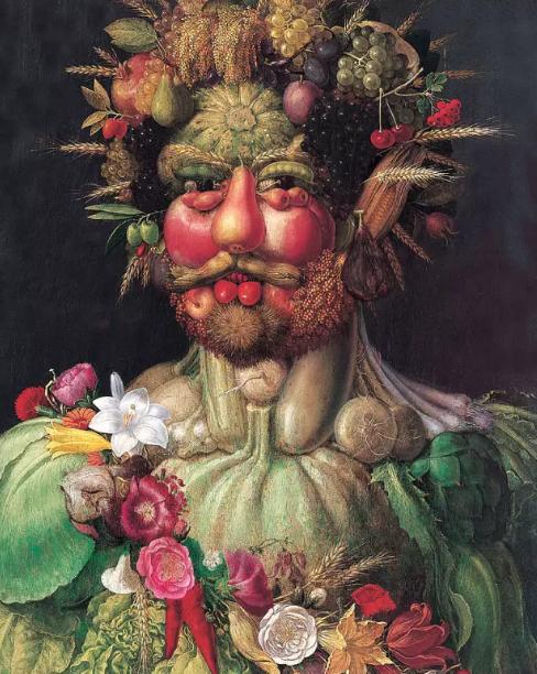 朱塞佩·阿尔钦博托所画《鲁道夫二世》