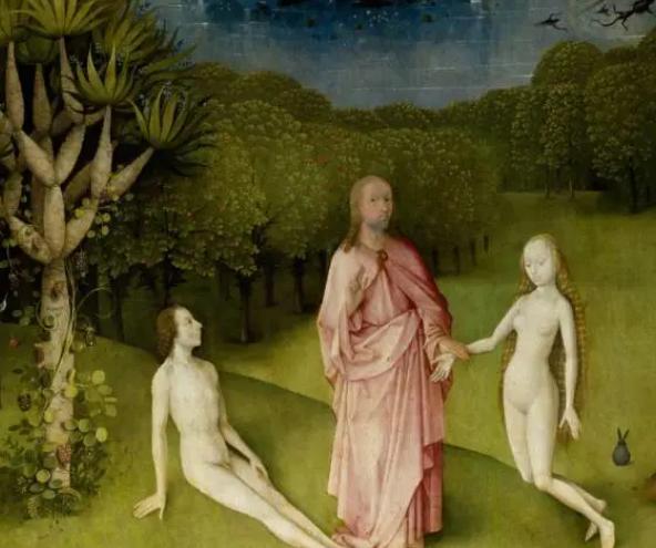 上帝、亚当和夏娃